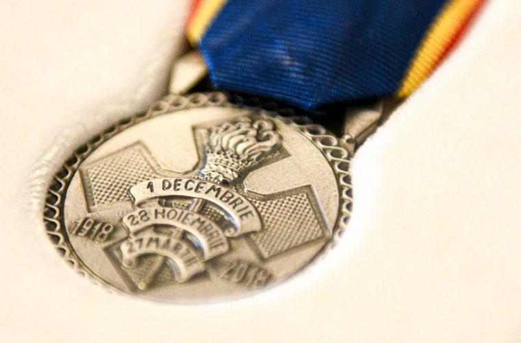 """Președintele Klaus Iohannis a conferit Medalia Aniversară """"Centenarul Marii Uniri"""" Muzeului Memorial Universtar """"Vasile Goldiş"""" din cadrul UVVG"""